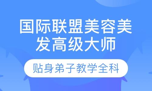 郑州国际联盟美容美发高级大师班