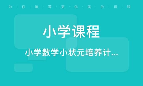 济宁小学课程