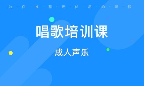 北京唱歌培训课