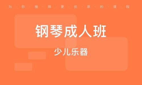北京钢琴成人班