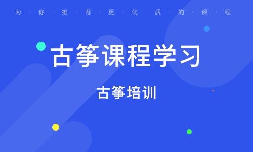 太原古筝课程学习