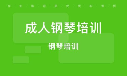 太原成人钢琴培训中心