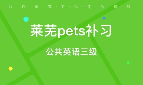 萊蕪pets補習