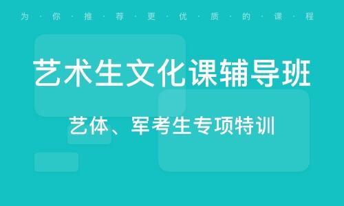 淄博艺术生文化课辅导班