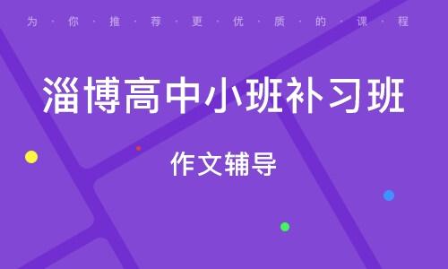 淄博高中小班补习班