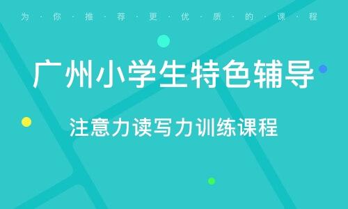 广州小学生特色辅导