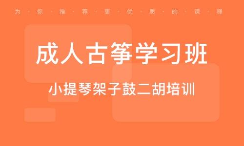 天津成人古筝学习班