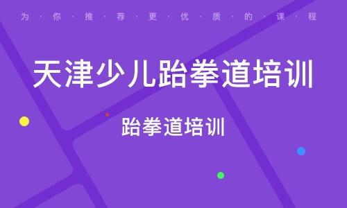 天津少儿跆拳道培训班