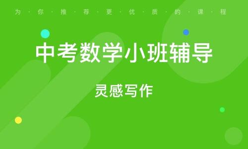 武汉中考数学小班辅导