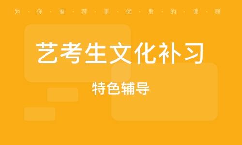 重慶藝考生文化補習