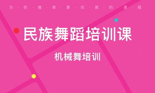 上海民族舞蹈培训课