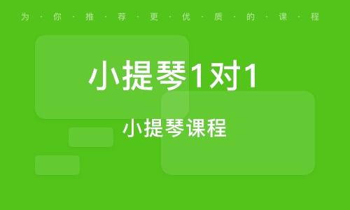 上海小提琴1对1