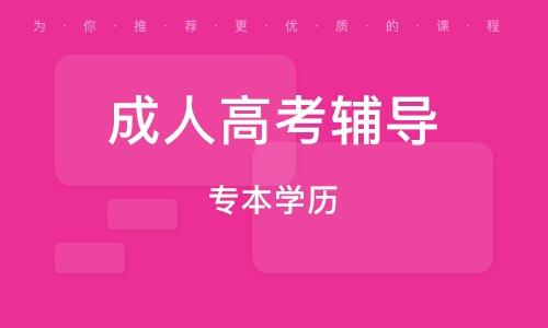 北京成人高考辅导