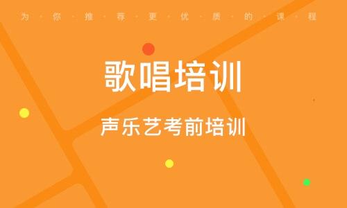 上海歌唱培训