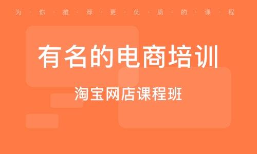 南京有名的电商培训