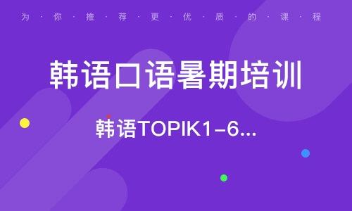 韓語TOPIK1-6直達課程