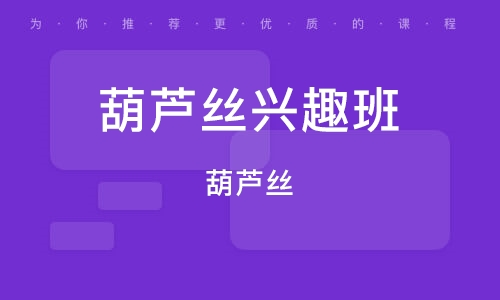 潍坊葫芦丝兴趣班