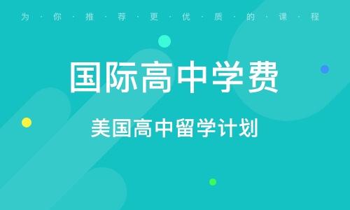 天津国际高中学费
