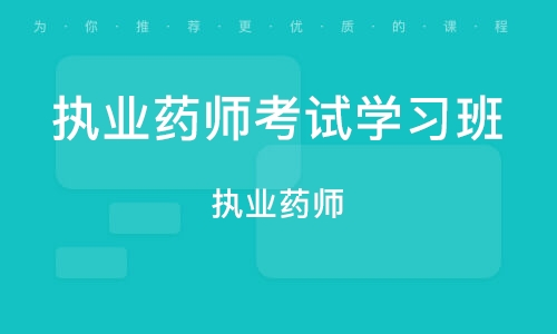北京执业药师考试学习班