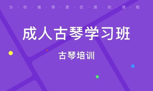 天津成人古琴学习班