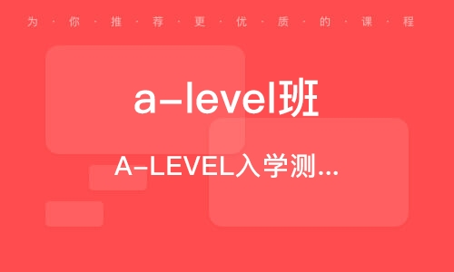 北京a-level班