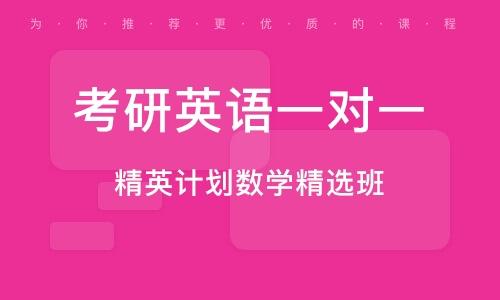 天津考研英語一對一