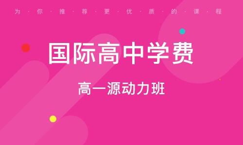 北京国际高中学费