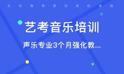 北京艺考音乐培训