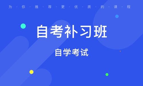 郑州自考补习班