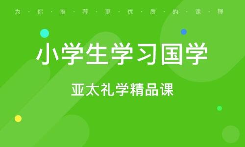 济南小学生学习国学