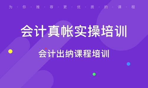 天津会计真帐实操培训班