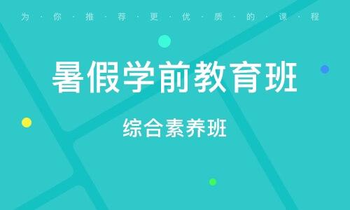 天津暑假学前教育班