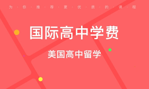 武汉国际高中学费