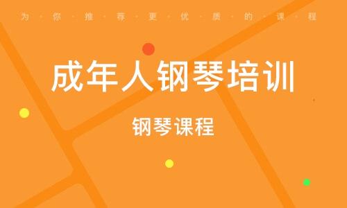 武汉成年人钢琴培训
