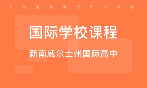 上海国际学校课程