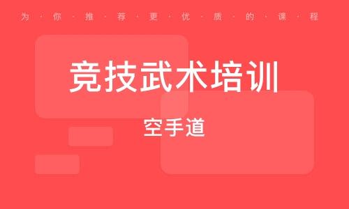 上海竞技武术培训