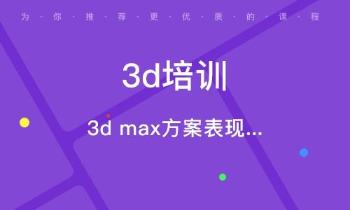 天津3d培训机构