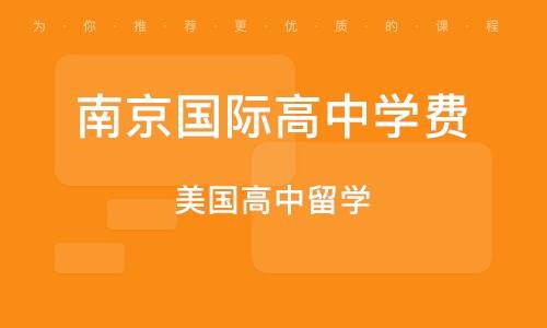 南京国际高中学费