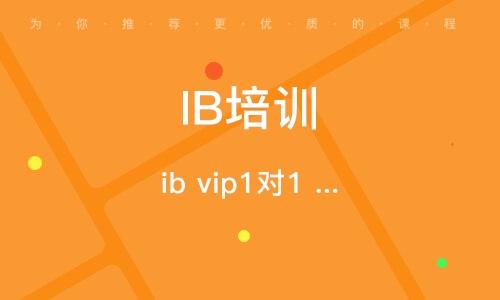 ib vip1對1 尊享班