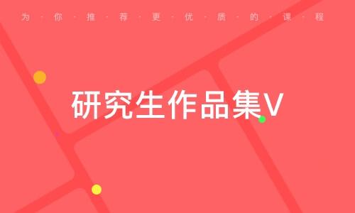研究生作品集VIP精华课程