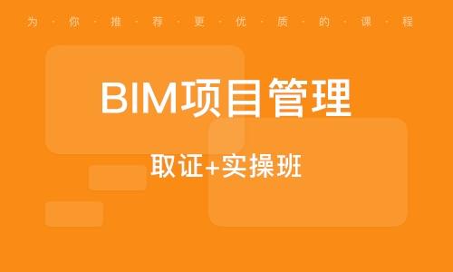 BIM项目管理 (取证+实操班)