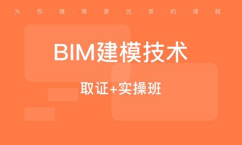 BIM建模技术 (取证+实操班)
