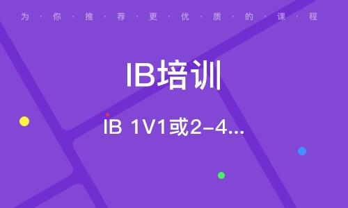 深圳IB培训课程
