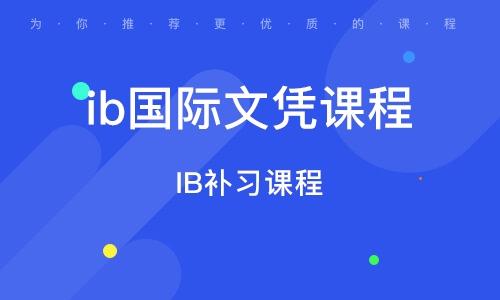 北京ib国际文凭课程