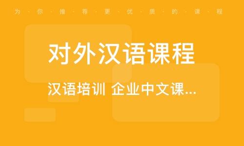 上海對外漢語課程