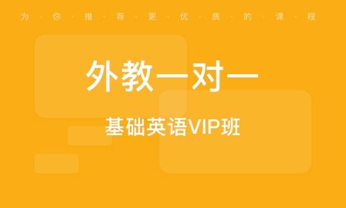 上海基础英语VIP班