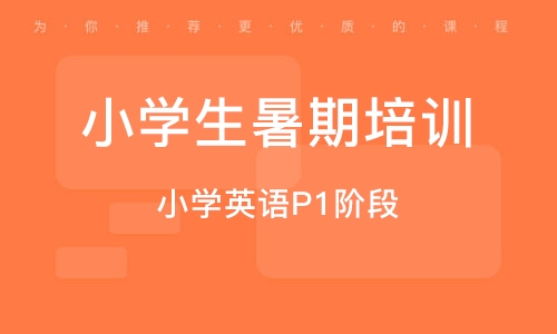 天津小学生暑期培训班