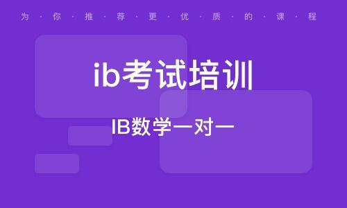 IB數學一對一