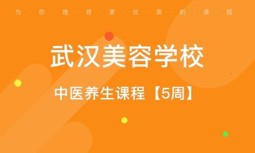 武汉中医养生课程【5周】