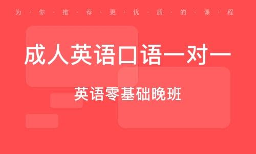 广州成人英语白话一对一